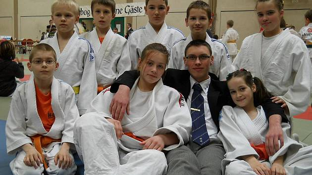 Reprezentanti SK Judo Teplice v Německu