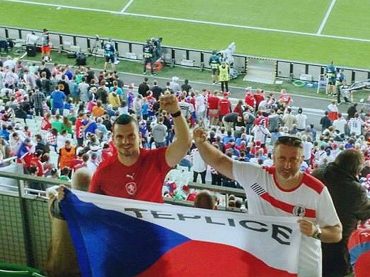 Lukáš Nosovský a Erik Antal na Euro 2016.