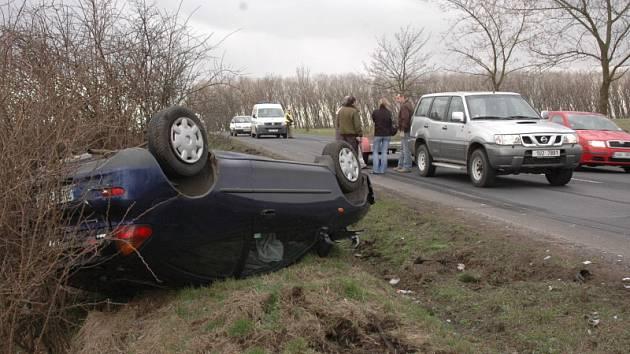 Nehoda u Srbic na Teplicku