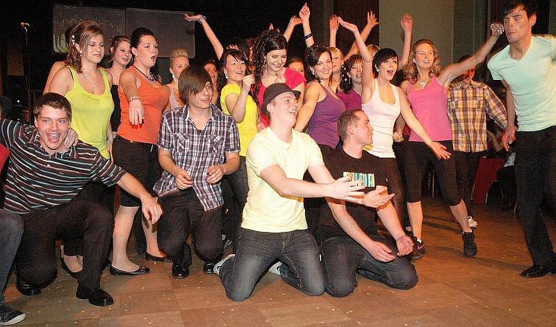 Maturitní ples studentů 4.B obchodní akademie