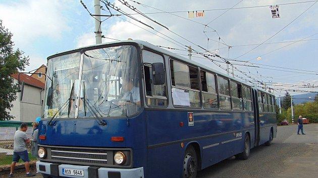 Oslava 66 let trolejbusů v Teplicích