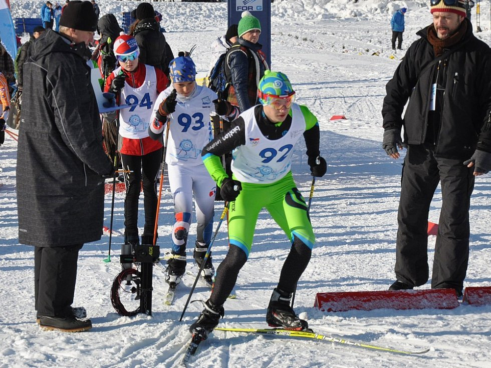 Cínovec - Hry VII. zimní olympiády dětí a mládeže 2016.