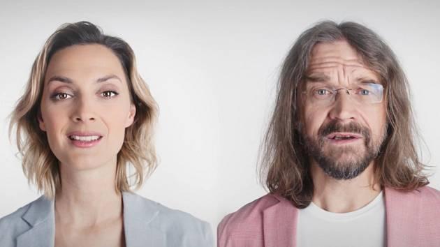 Poláková a Bárta natočili ukolébavku dětem z kojeňáků.