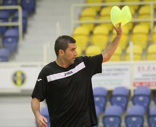 Hrající trenér Teplic Bruno Barbosa