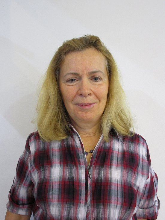 Milena Luňáková před proměnou.