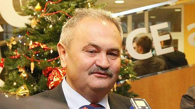 Ředitel FK Teplice František Hrdlička