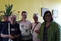 Vzácní hosté navštívili Obchodní akademii v Teplicích.