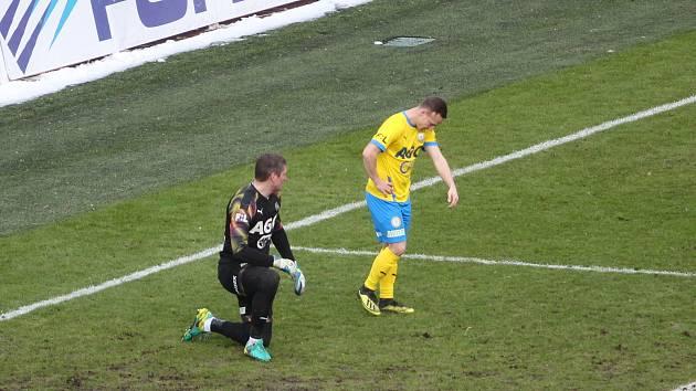 Proti Brnu by se v poháru měl v brance Teplic objevit Tomáš Grigar.