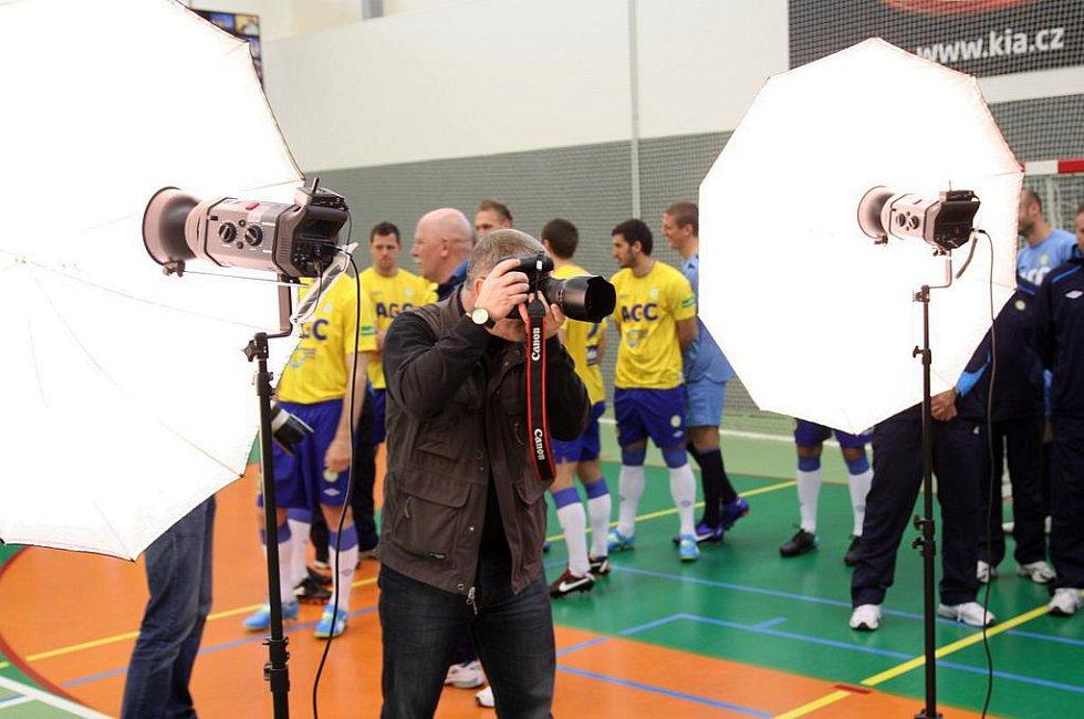 Fotografování FK Teplice před startem jara