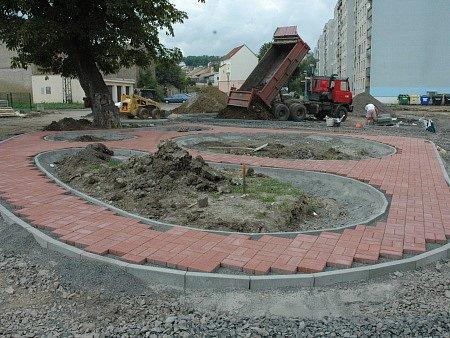 Stavba nového dppravního hřiště