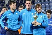 Vůch, Grigar a Krátký s pohárem za třetí místo