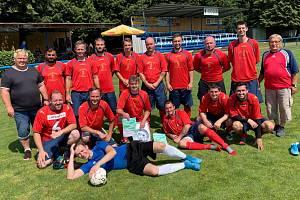 Slovan Sobědruhy vyhrál turnaj v Dubí