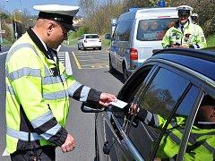 Policejní akce Speed marathon na Teplicku.