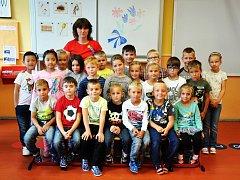 Žáci ze ZŠ Proboštov, 1. třída paní učitelky Stanislavy Fialové.