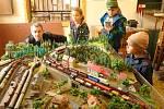 Železniční expozice v Oseku.