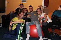Účastníci Fifa párty
