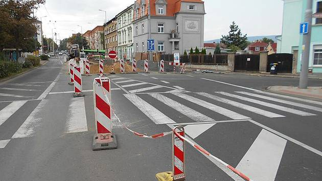 Ulice Duchcovská, Teplice