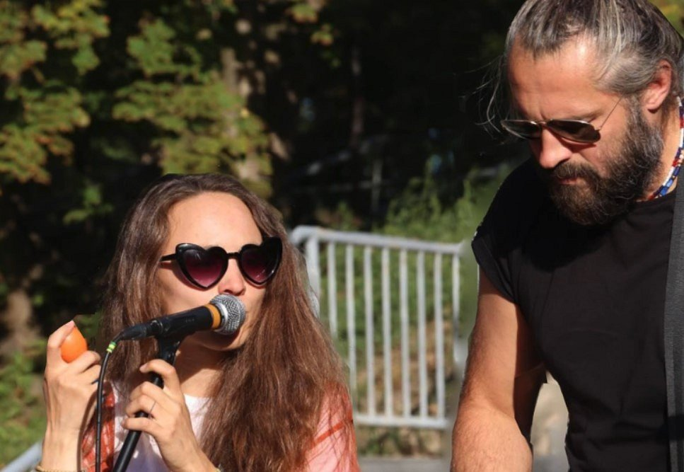 Pavel Houfek & Kačka Rousová.