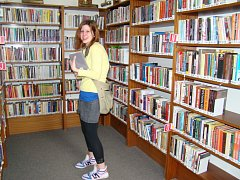 Regionální knihovna Teplice. Ilustrační foto.