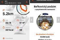 Nová aplikace ČEZ hlídá pohyb a sbírá body pro potřebné
