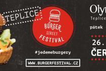 Od pátku do neděle bude před OC OLympia v Teplicích probíhat Burger street festival.