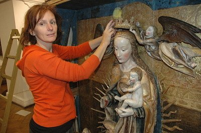 Muzeum vystavilo oltář