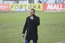 Trenér Teplice Radim Kučera.