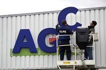 Výměna značky Glaverbel za AGC