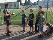 Skauti z Teplic se sešli na atletických závodech.