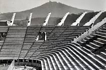 Výstavba teplického fotbalového stadionu