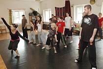 Tradiční taneční workshop v Bílině