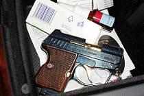 Nelegálně držená zbraň - KEVIN 380 Auto, ráže 9 mm