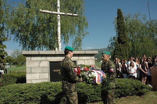 Uctění památky obětem Pochodu smrti - Prokopka