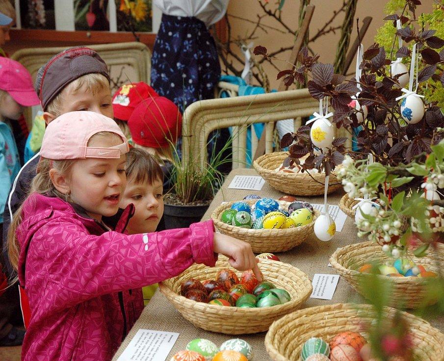 Velikonoce vteplické botanické zahradě, 2011.