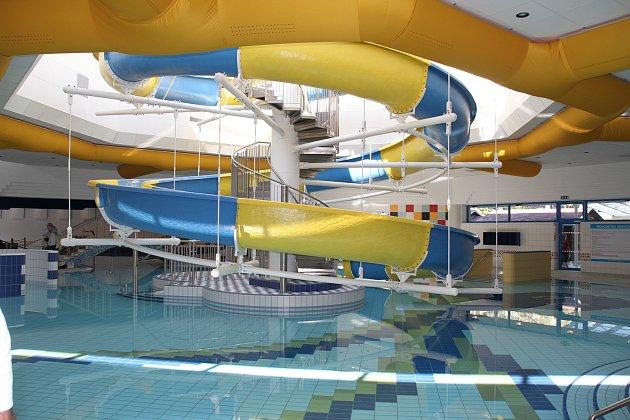 Aquacentrum se po rekonstrukci otevře 25.dubna