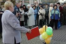 Komunisté protestovali proti vládním reformám