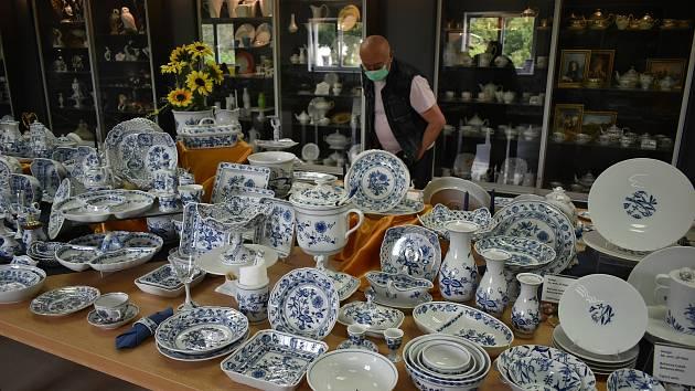 Stálá výstava porcelánu v Dubí.