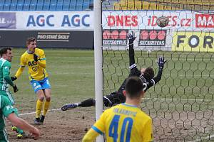 Teplice doma pouze remizovaly s pražskými Bohemians. Vyrovnávající gól Severočechů dal takto Kodad.