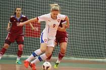 Futsalistky České republiky hrály s Ruskem