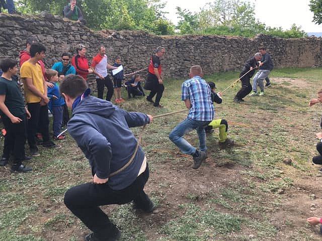 Prvomájová akce na Doubravce bavila děti i dospělé.