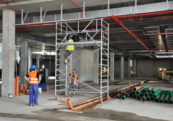 Výstavba Galerie Teplice