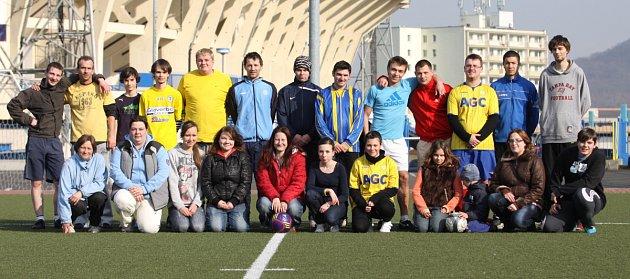Fanklub FK Teplice hrál fotbal