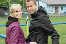 Jakub Mareš s přítelkyní
