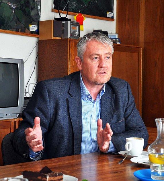 Zdeněk Matouš, starosta města Krupky.