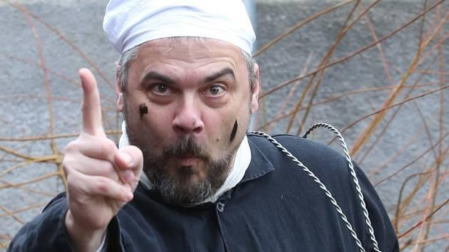 Hlavním organizátorem Proboštovského Masopustu je teplický divadelník Martin Ryba