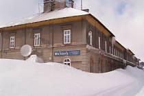 Nádraží Moldava v Krušných horách
