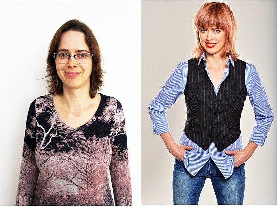 """Před a po .....""""Věřím, že vaše proměna mé osobnosti by byla skvělým startem mé nové etapy života,"""" napsala do své přihlášky do soutěže Kateřina Bartošová."""