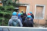 Hadí lázně v Teplicích už řadu let chátrají. Jednání majitele s městem a památkáři.
