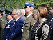 Pietní akt připomněl 313 obětí pochodu smrti v roce 1945 v Krupce na Prokopce