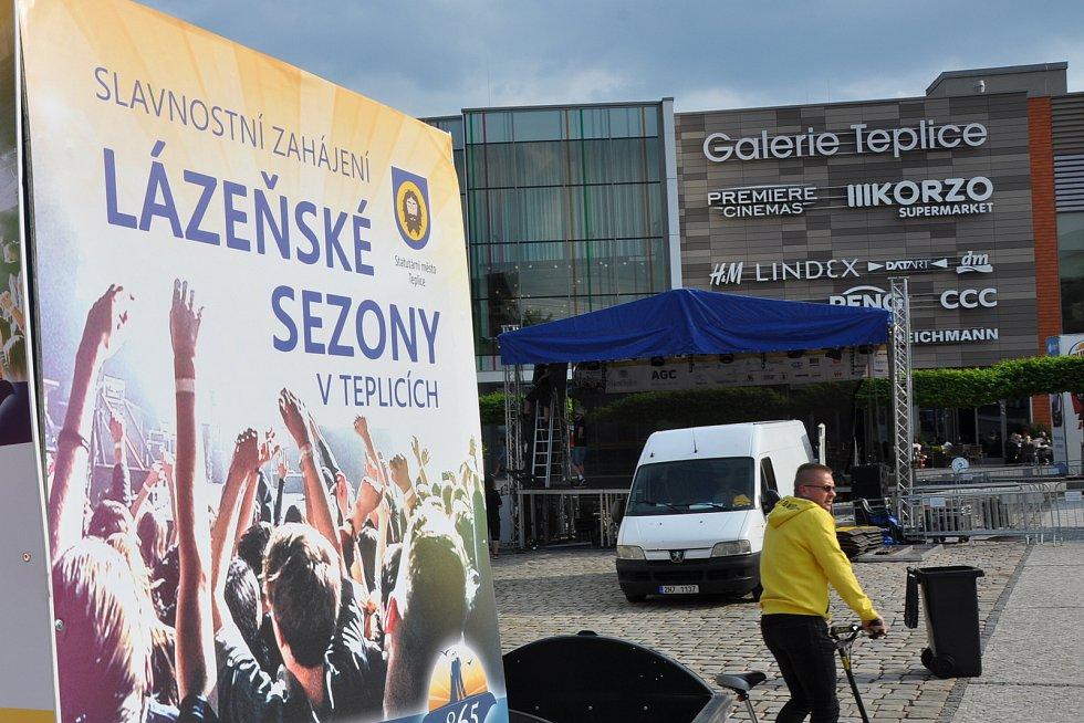 Lázeňská 2019 - přípravy.